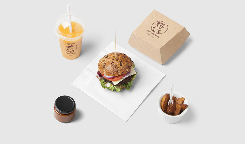 logo baru z burgerami